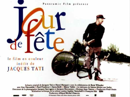 Film clips, bicycles: title