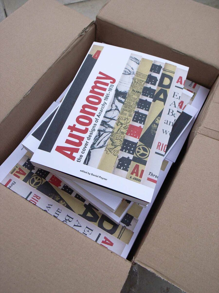 Autonomy, the book, just arrived in packets